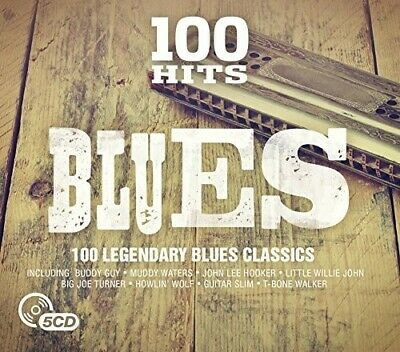 Various Artists - 100 Hits: Blues / Various [New CD] Boxed Set, UK - Import
