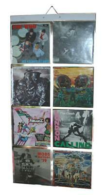 Picture Pockets for LP Records, Wall Frame for Vinyl Covers