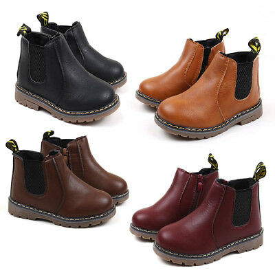 2017 Infant Baby Boots Kids Boys Girls Fashion Boots Shoes Children Martin Boots