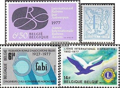 Belgium 1890,1891,1894,1901 (complete.issue.) unmounted mint / never hinged 1977