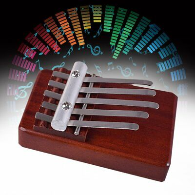5 Keys Finger Thumb Piano Rosewood Instrument African Musical Instruments BK