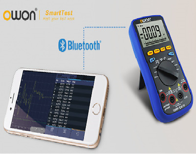 OWON B35T TRMS Multimeter IOS + Android Bluetooth Datenlogger