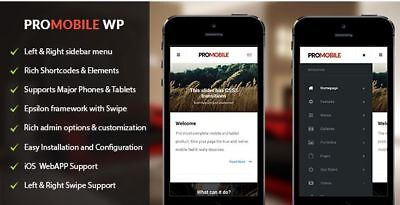Pro Mobile   Mobile and Tablet Responsive WordPress Theme (WooCommerce Ready)