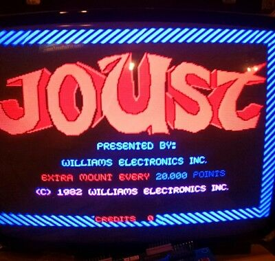 Working Williams Robotron, Joust,Stargate,Splat,and Sinistar Cpu board PCB
