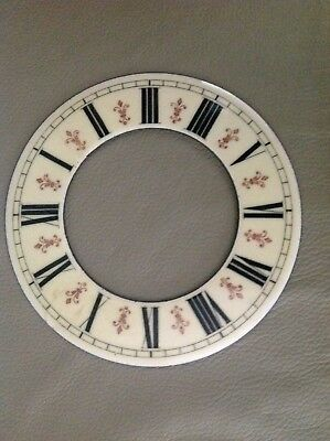 A Six And A Half Inch Fleur De Leys Porcelain Chapter Ring For Vienna Wall Clock