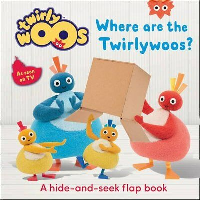 Where are the Twirlywoos? New Board book Book