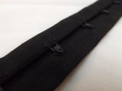 Hook And Eye Tape Black 28mm x 40 mm x 10 Metres