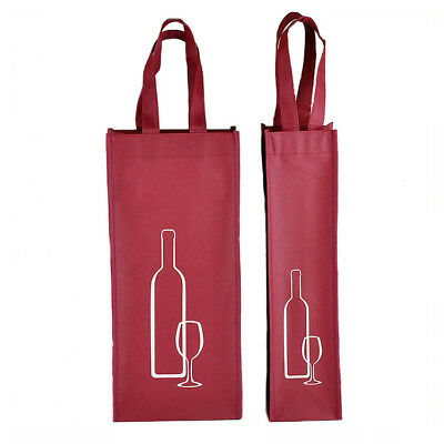 Convenient Non-woven Fabric Red Wine Package Bags Gift Home Restaurant Nice