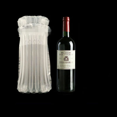 5 PCS Inflatable Air Column Rolls Bubble Cushion Wrap Package For Wine Bottle CA