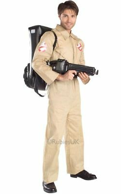 Ghostbusters Fancy Dress Costume Mens Beige TV and Film Costumes
