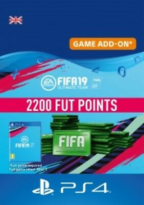FIFA 18 FUT 2200 Points UK PS4  - Same Day Dispatch
