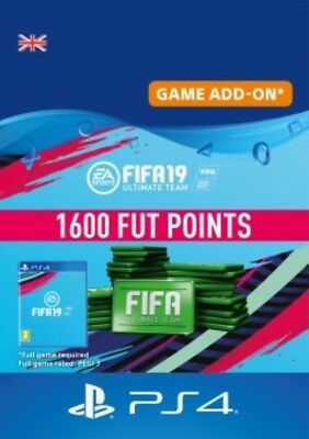 FIFA 19 FUT 1600 Points UK PS4  - Same Day Dispatch