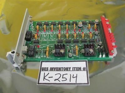 AMAT Applied Materials 0100-00504 Vacuum Control Feedback PCB Card Used Working