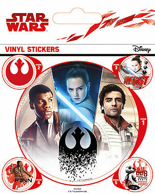 Star Wars - The Last Jedi - Rebels -Stickerset Sticker Aufkleber 10x12,5 cm