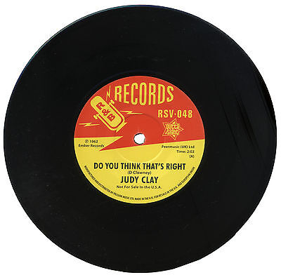 """JUDY CLAY  """"DO YOU THINK THAT'S RIGHT""""  EARLY 60's R&B   LISTEN!"""