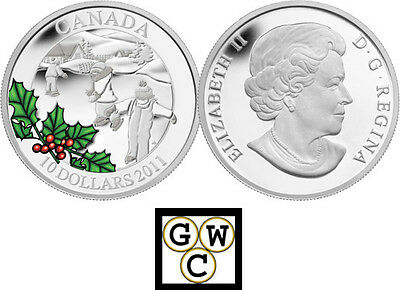 2011 'Little Skaters' Proof $10 Silver Coin .9999 Fine (12904) (NT)