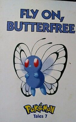 book pokemon tales #7 fly on, butterfree