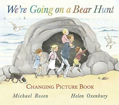 We're Going on a Bear Hunt (Changing Picture Book) by Michael Rosen Book The