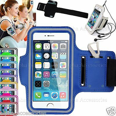 "Sport Armband Jogging Running Gym Strap Case Cover Apple iPhone 8 Plus (5.5"")"
