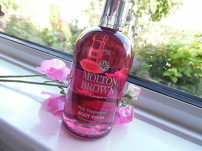 Molton Brown Pink Pepper pod Body wash bath shower gel 300ml Brand New FREE POST