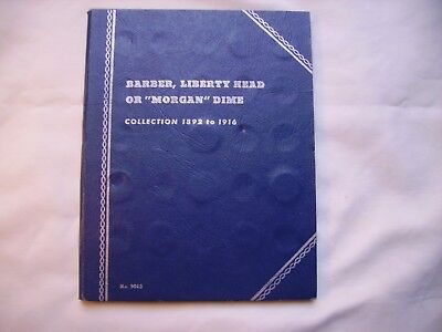 Liberty Head (Barber) Dimes Collection 1892 to 1916 with 42 Different Coins
