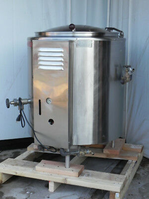 steam kettle 40 gallon natural gas jacketed 115V