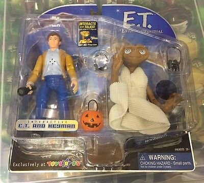 Rare 2001 E.T. Extraterrestrial Toys R Us Excl Interactive E.T & Keyman
