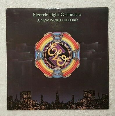 Electric Light Orchestra A New World Record 1976 Uk Jet Lp+Inner *n/mint A1 & B1