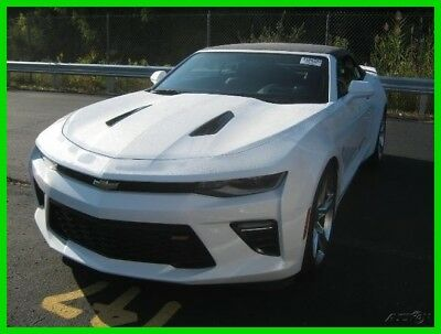 2017 Chevrolet Camaro 2SS 2017 Chevy Camaro 2SS Convertible Factory Executive 4,015 miles $10K OFF MSRP!!!