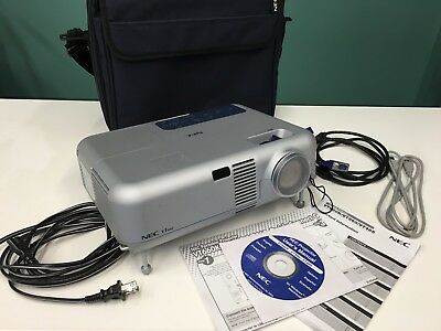 NEC VT660K projector, includes brand new replacement bulb still in box.