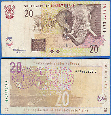 South Africa 2005, 20 Rand P-129, VF+ US-Seller