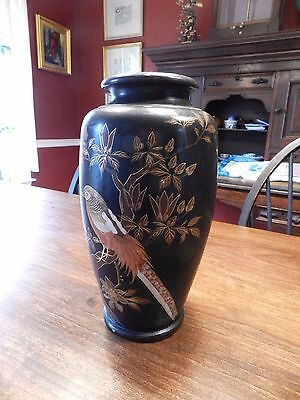 Antique JAPANESE Cloisonne Vase EXQUISITE-EARLY 1900's