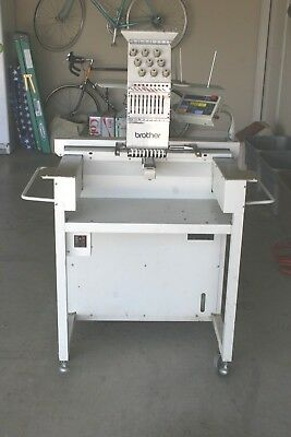 Brother Model BAS-415  Commercial 9 Needle Embroidery Machine