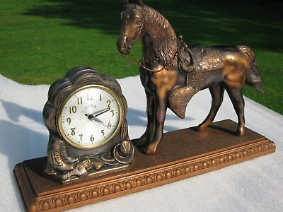 Horse Clock By Lincoln   [ Working Condition]