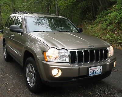 2005 Jeep Grand Cherokee Limited Clean 1 owner JEEP GRAND CHEROKEE LIMITED 4WD V8 4.7L 4X4 Loaded  SRT8 Hemi