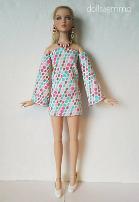 Tonner ANTOINETTE & CAMI doll clothes Summer Dress & Jewelry Fashion NO DOLL d4e