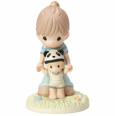 Behind You From Your Beary First Step Precious Moments Figurine Mom Child NWOB