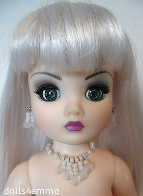 """OOAK DOLL JEWELRY for 21"""" CISSY and similar sized dolls SNOWFLAKE - NO DOLL d4e"""