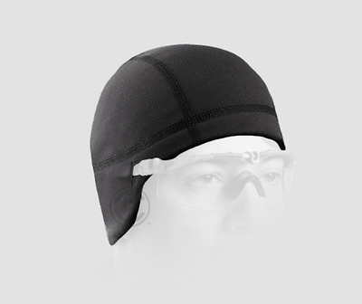 New Crye Precision Skullcap Black Fitted Beanie Hat Fleece