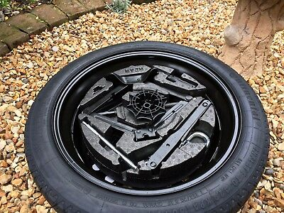 "New Genuine Vauxhall Insignia 17"" Space Saver Spare Wheel, Jack And Tool Kit."