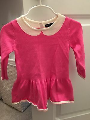 Baby Gap Infant Girl Pink Collared Sweater Dress, Brand New, 12-18months