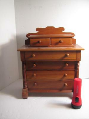ANTIQUE Sheridan Dresser Chest SALESMAN SAMPLE Miniature - L@@K!!!