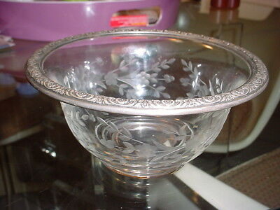 International Prelude Sterling  Small glass  Bowl