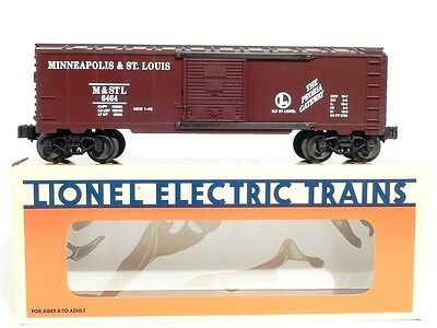 Lionel 6-19250 Minneapolis St Louis 6464 Series Box Car O Scale Model Trains