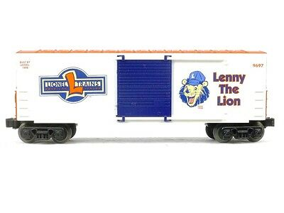 Lionel 6-29232 Lenny The Lion Hi Cube Box Car O Scale Model Trains Railroads