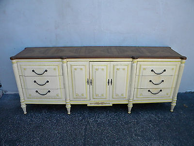 Long French Painted Dresser 5971
