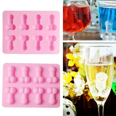 Pro Novelty Willy Penis Silicone Chocolate Ice Jelly Cake Mould Mold Hens Party