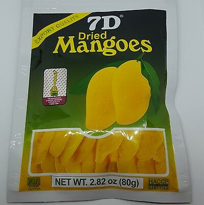 Hot Selling ~5 bags 7D Dried Mango(5 bags×80g)