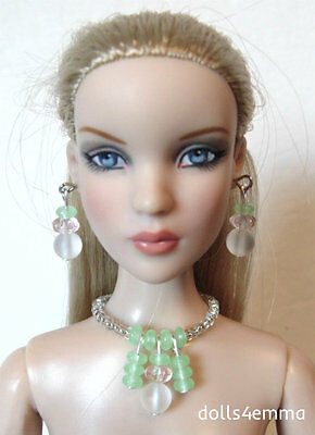 """JEWELRY SET for 16"""" Tonner CAMI & ANTOINETTE Dolls """"Mint Julep"""" NO DOLL d4e"""
