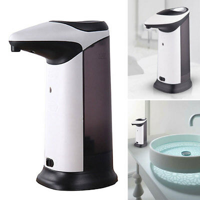 Automatic Handsfree Sensor Soap Sanitizer Dispenser Touchless Kitchen Bathroom #